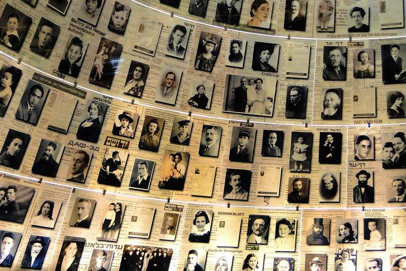 The Hall of Names, Yad Vashem Holocaust Museum, Israel